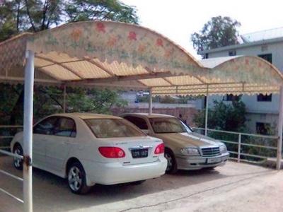 fiberglass parking shade karachi