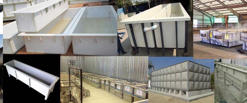 electroplating frp tanks