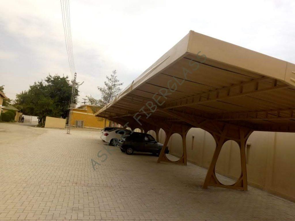 fiberglass car parking shade manufacturer karachi