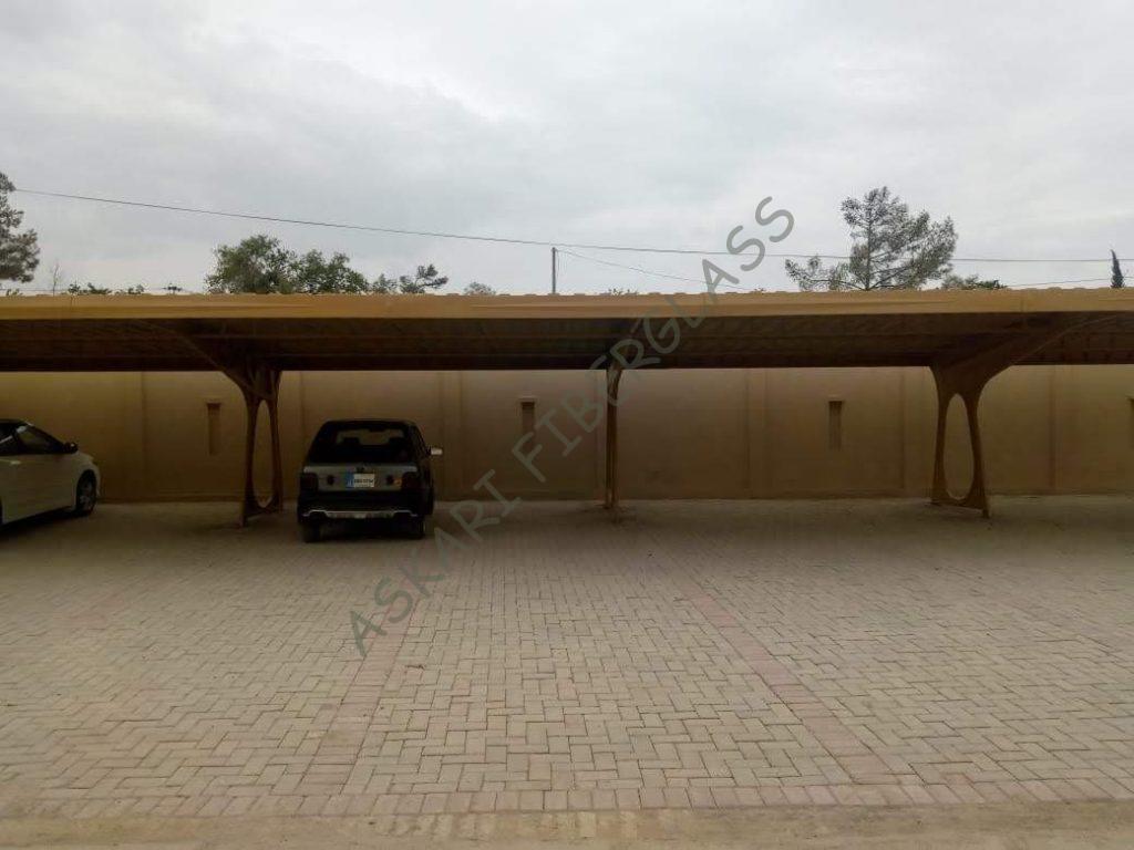 fiberglass car parking shed Karachi