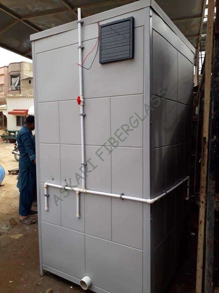 portable washroom toilet maker